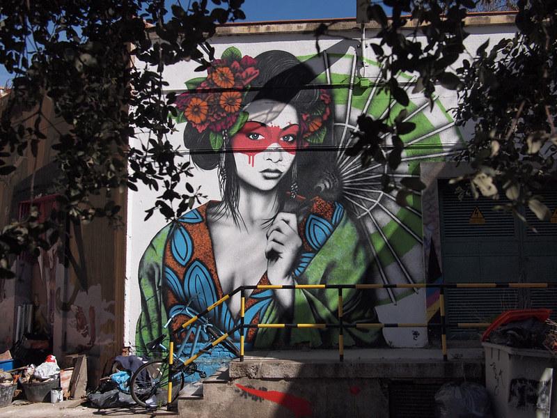 Donde hacer graffiti en Madrid, Tabacalera