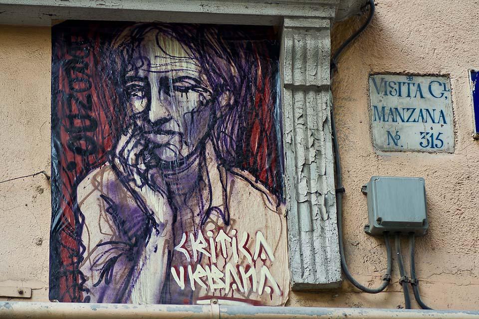 Visita guiada de street art en Madrid